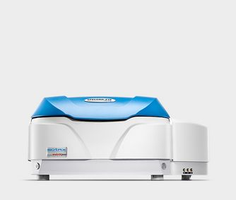 Double beam UV-Vis spectrophotometer for realtime dissolution data